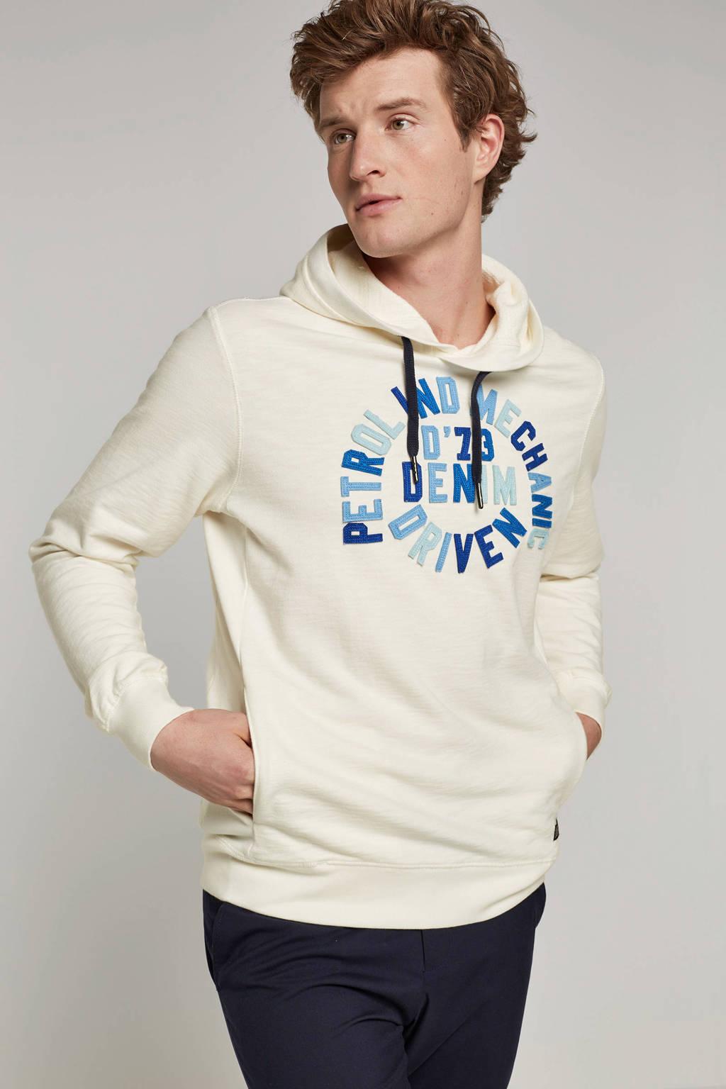 Petrol Industries hoodie, Wit