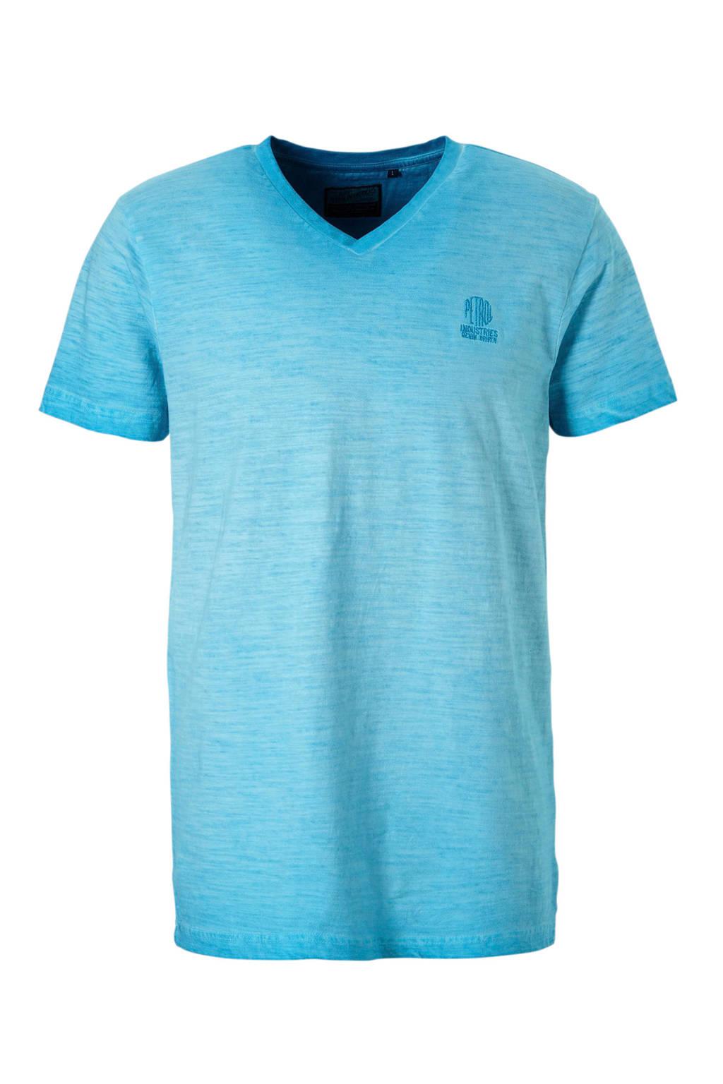 Petrol Industries T-shirt, Blauw