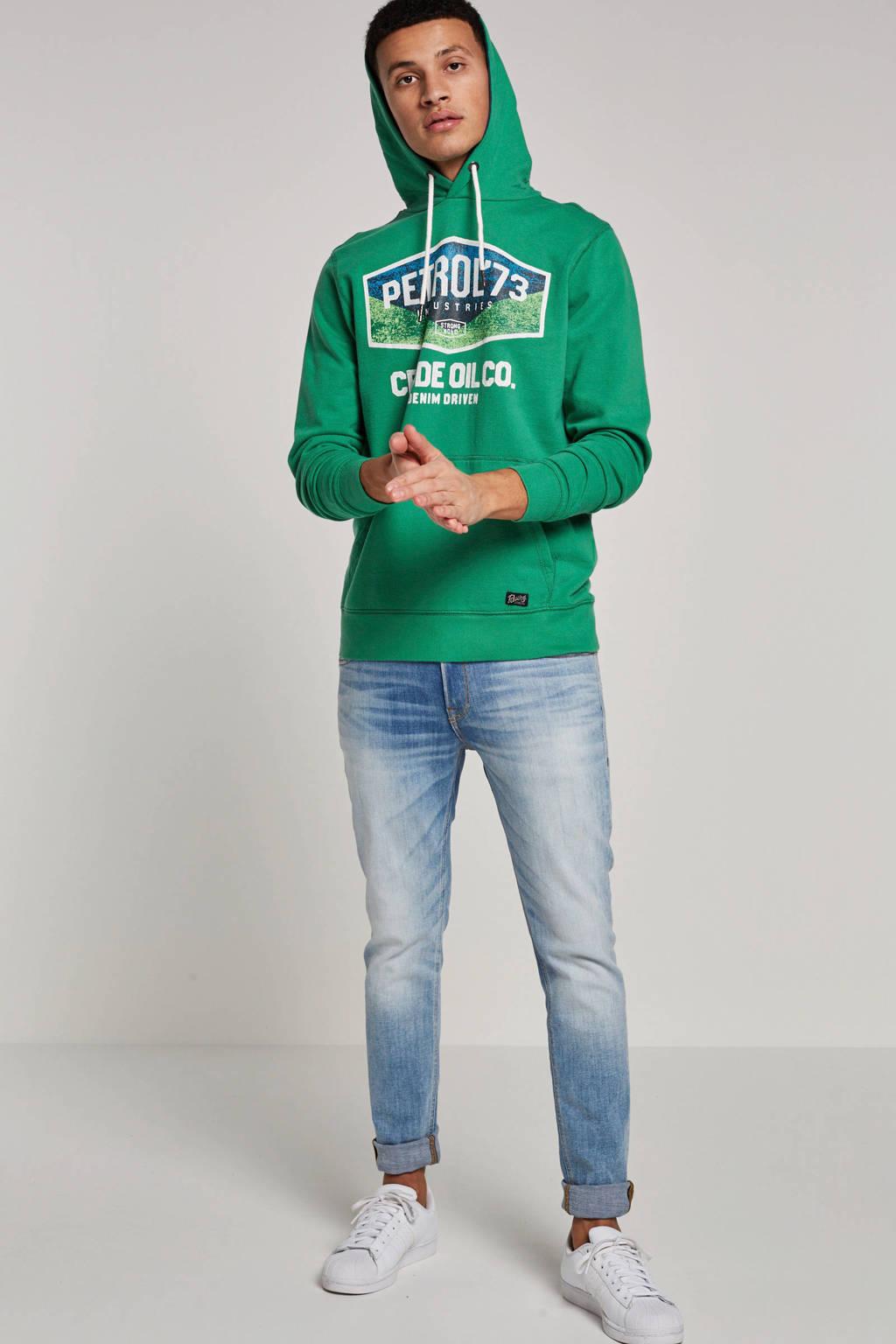 Petrol Industries hoodie, Lichtgroen