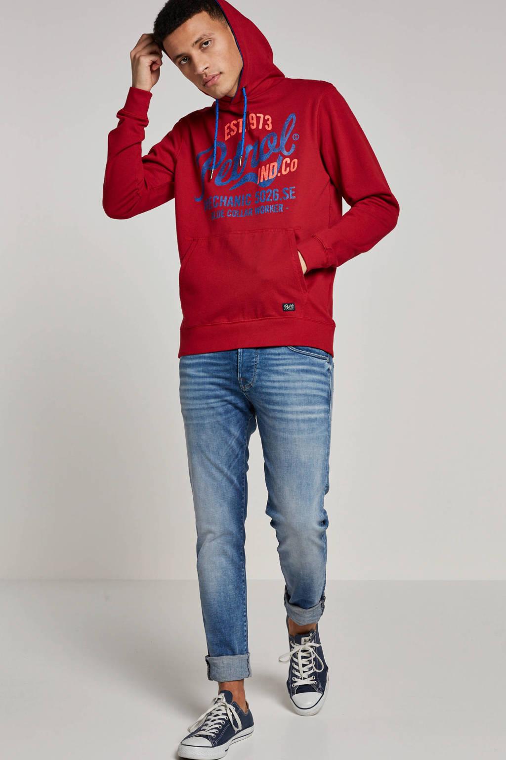Petrol Industries hoodie, Rood