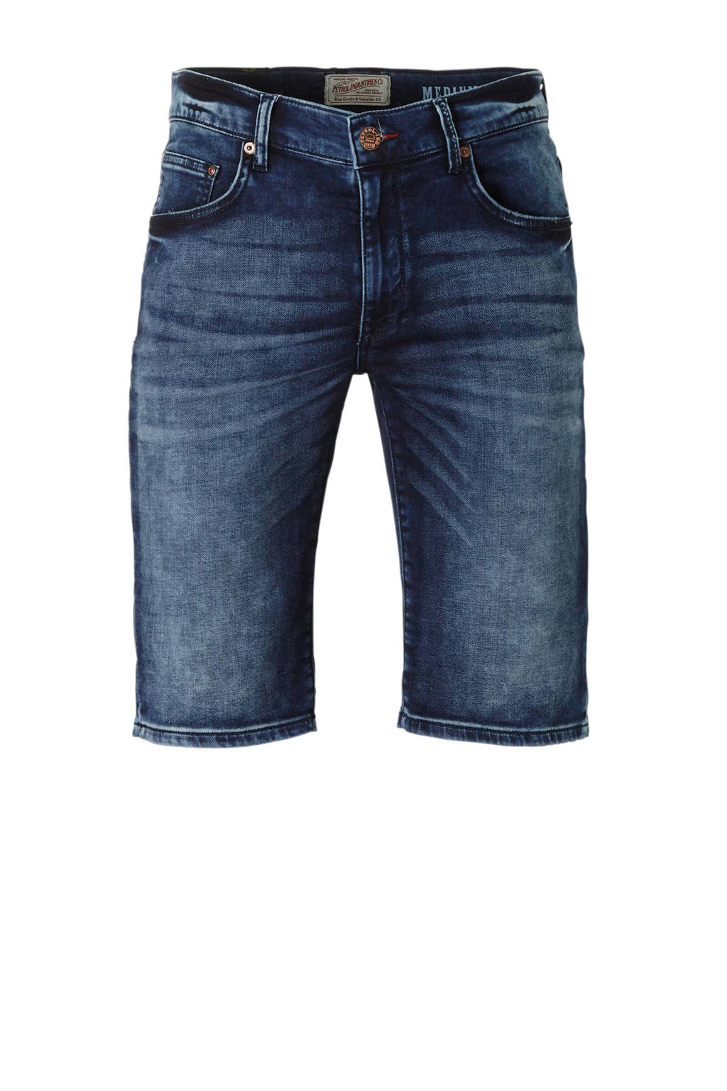 Petrol Industries regular fit jeans short, Dark denim