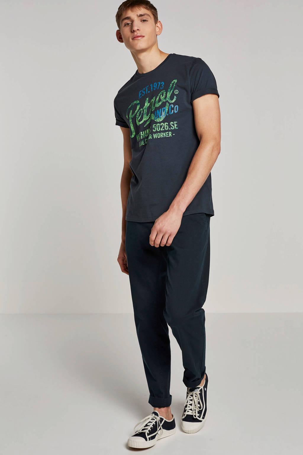 Petrol Industries T-shirt, Donkerblauw