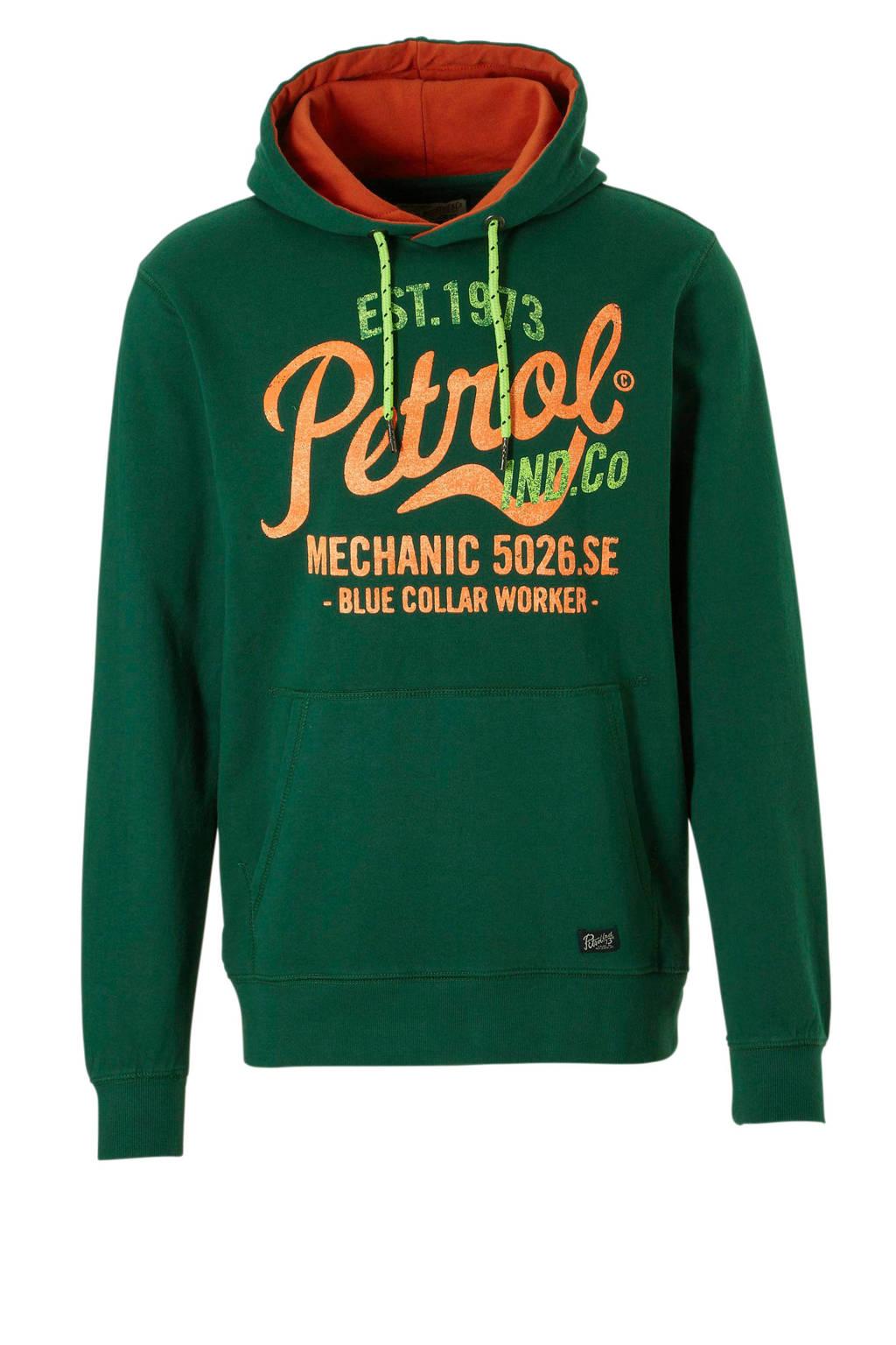 Petrol Industries hoodie, Groen