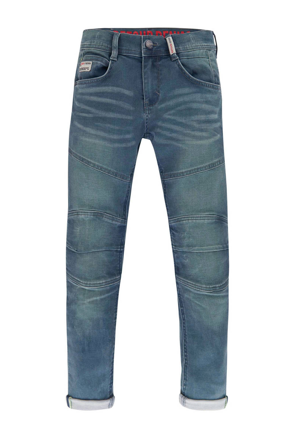 Retour Denim slim fit jeans Yves, Denim blauw