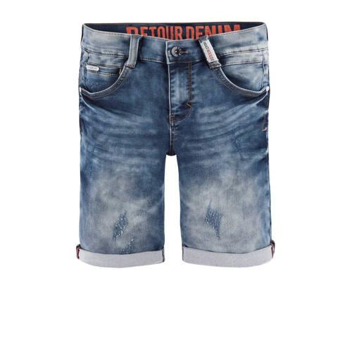 Retour Denim jeans bermuda Loek grijs kopen