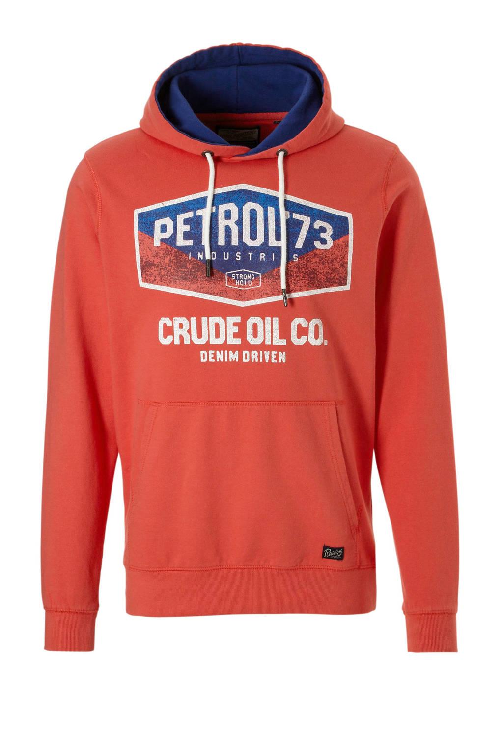 Petrol Industries hoodie, Zalmroze