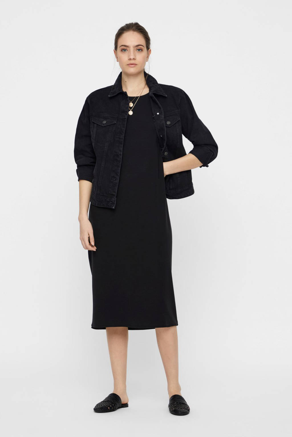 AWARE by VERO MODA jersey jurk zwart, Zwart