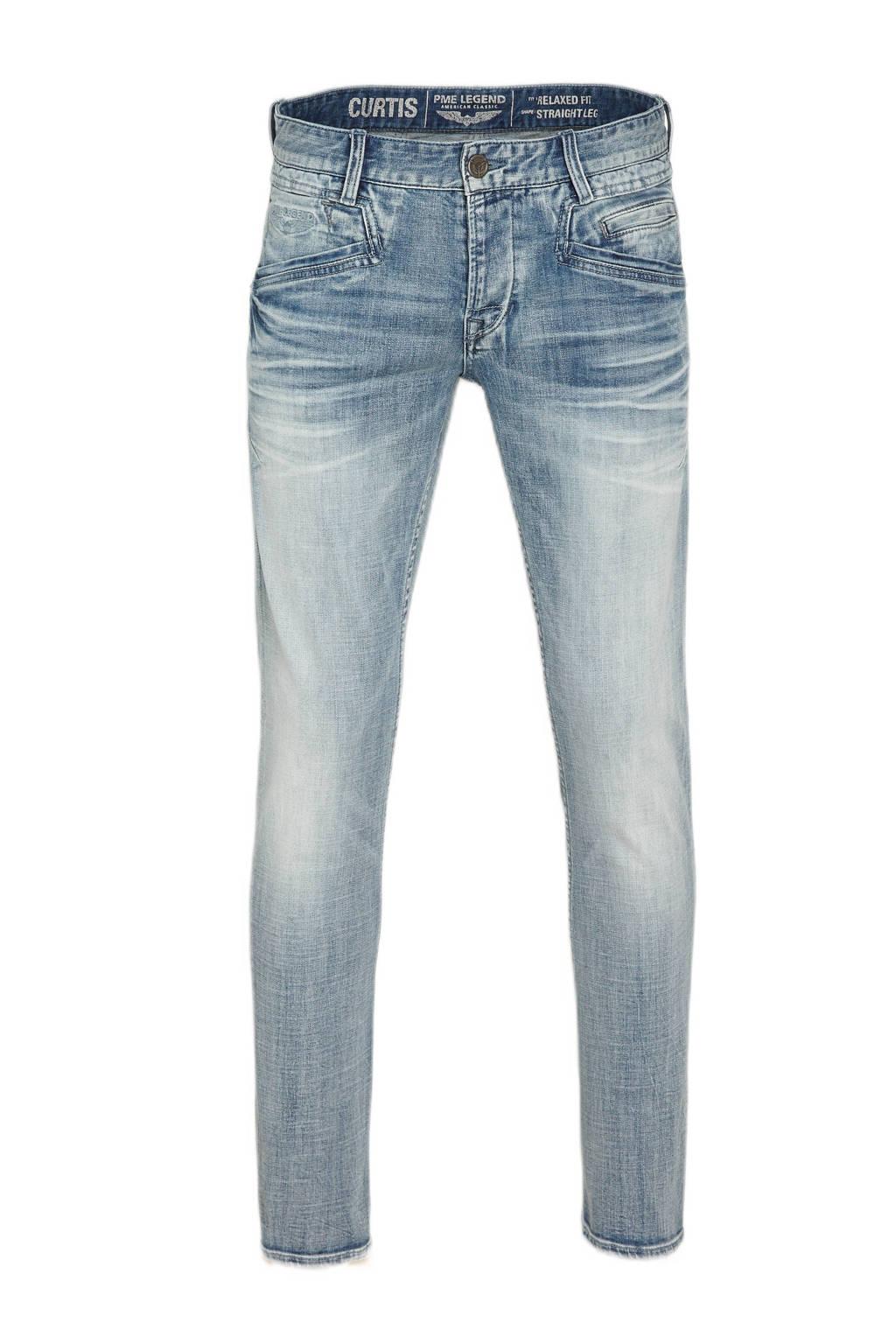 PME Legend straight fit jeans Curtis light blue, Light Blue
