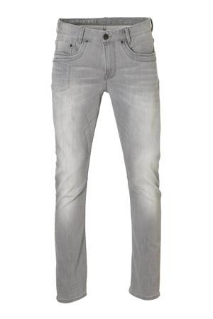tapered fit jeans Skymaster grijs