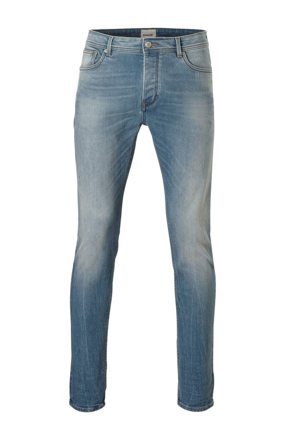 Chasin' tapered fit jeans Ross, Light denim