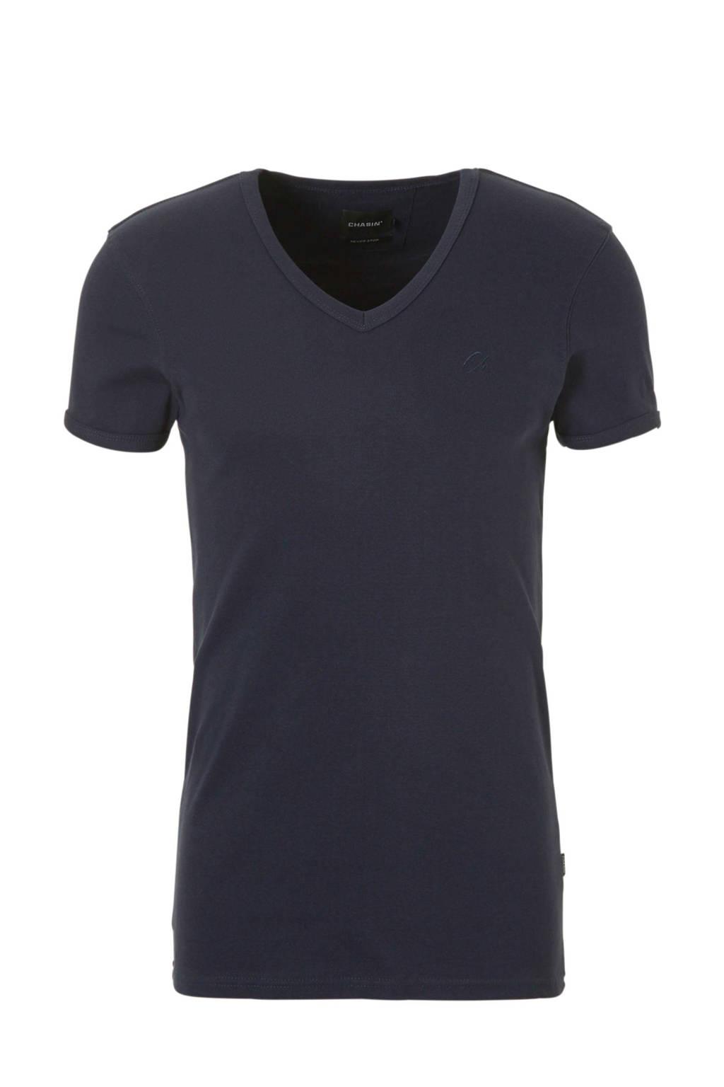 Chasin' T-shirt, Donkerblauw