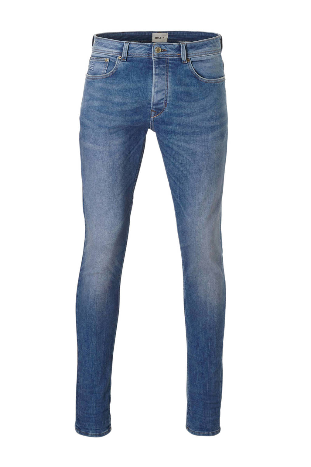 Chasin' tapered fit jeans Ross, Blauw