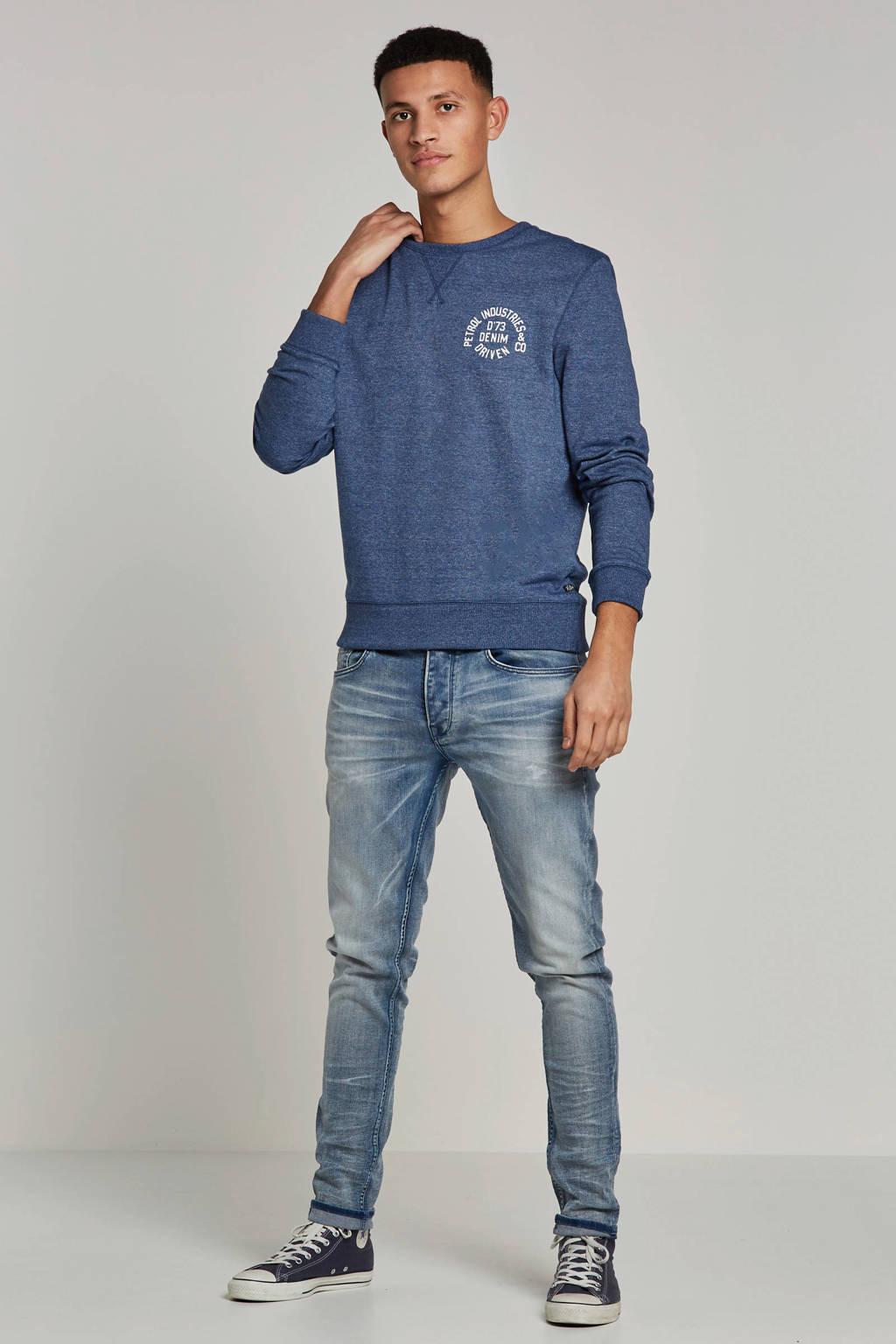 Chasin' tapered fit jeans Ross, Dark denim