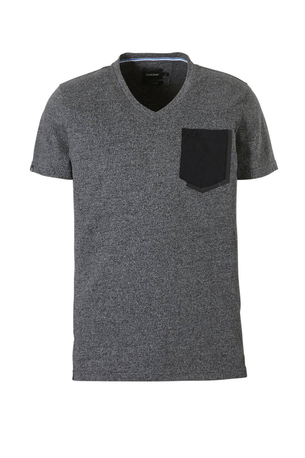 Chasin' T-shirt, Grijs melange