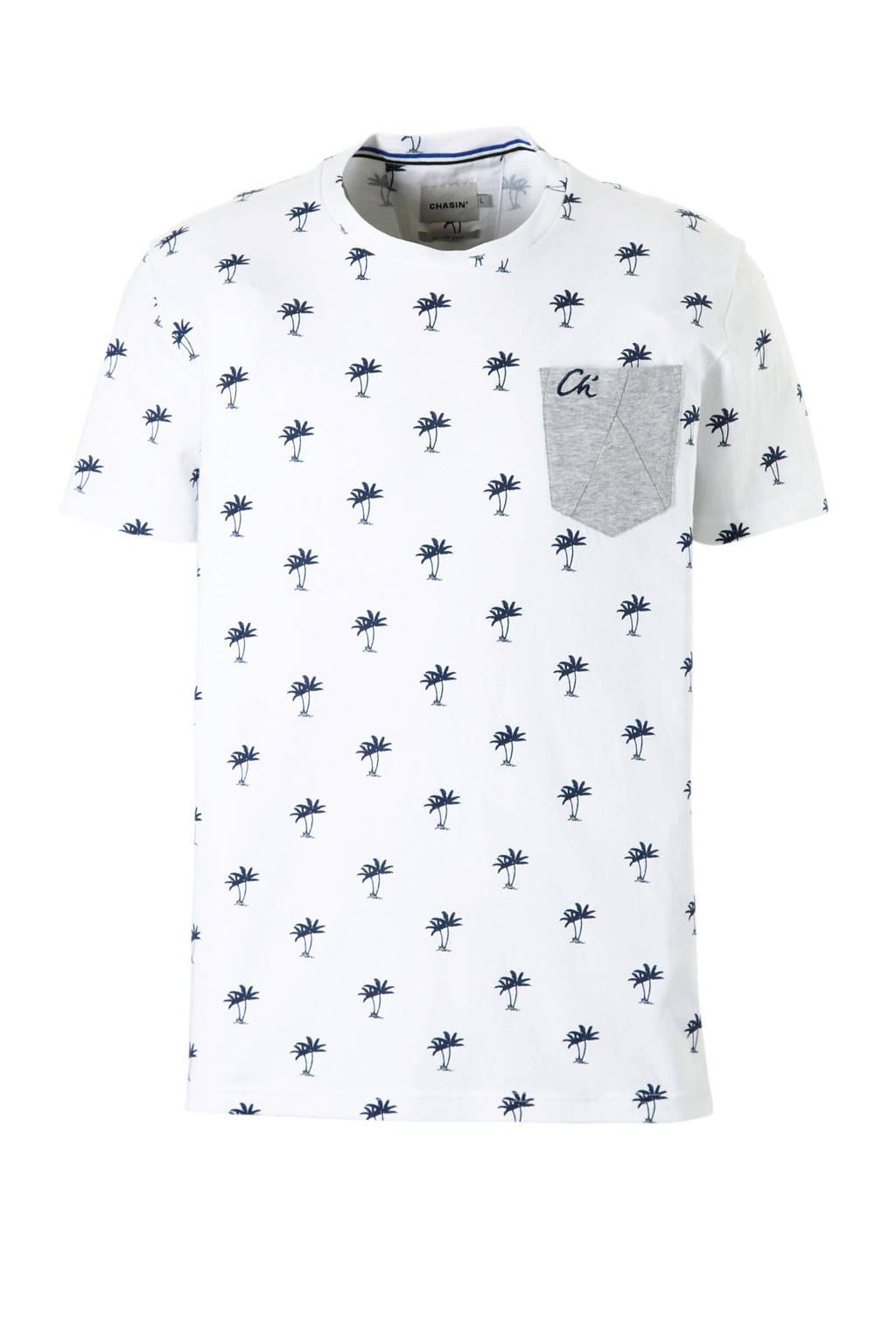 Chasin' T-shirt, Wit
