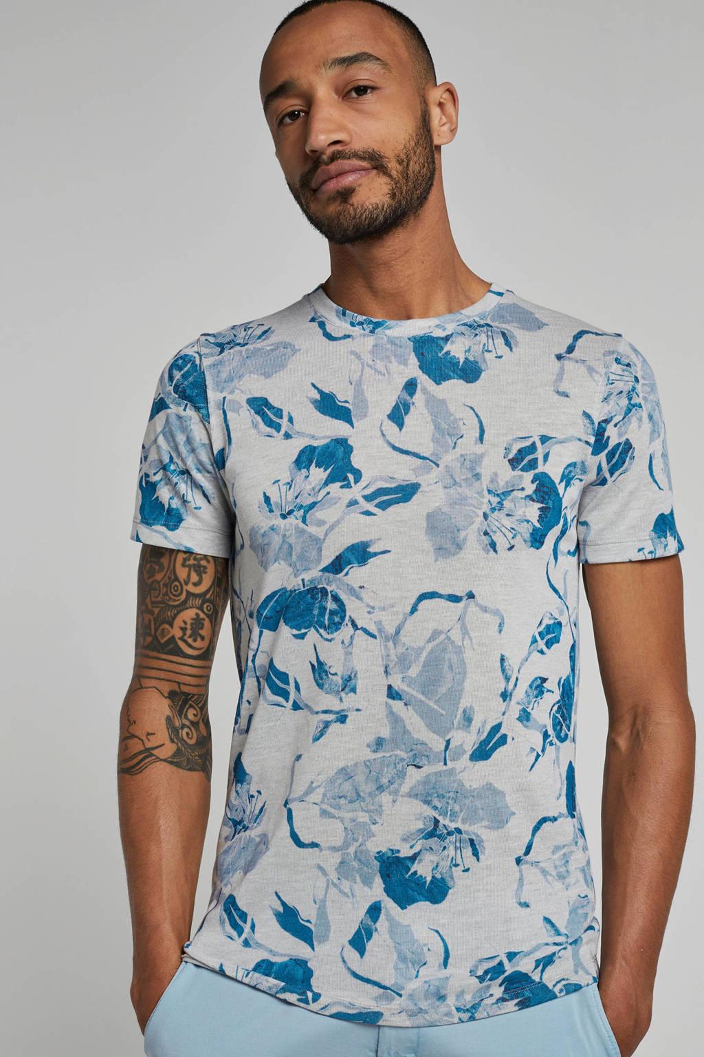SELECTED HOMME T-shirt Matthew, Grijsblauw