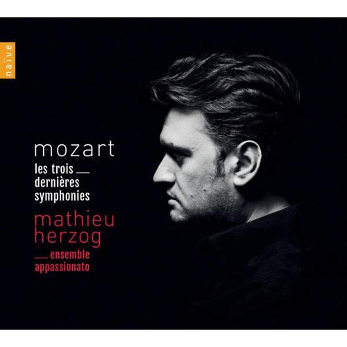 Mathieu Herzog Ensemble Appassionat - Mozart. The Last Three Symphonies (CD) kopen