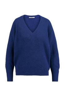 America Today trui Klementine met wol kobalt (dames)