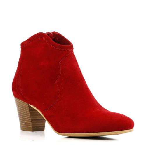 Lina Locchi Luela enkellaarzen rood kopen