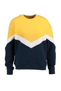 America Today sweater Sadie geel (dames)