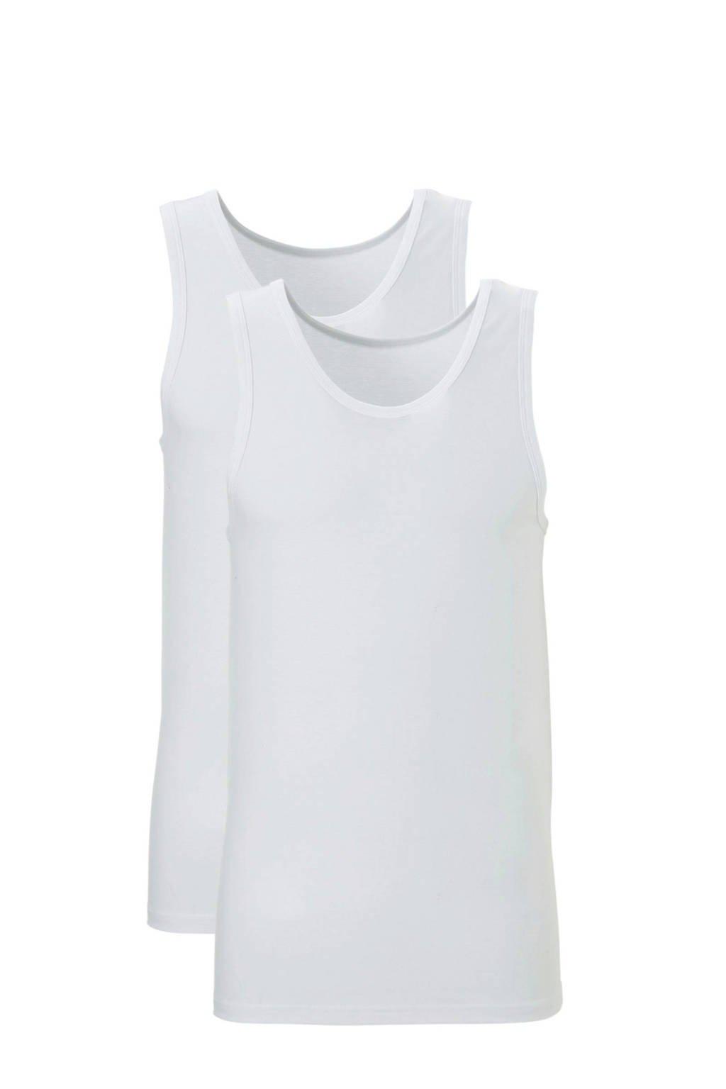 ten Cate hemd (set van 2) wit, Wit