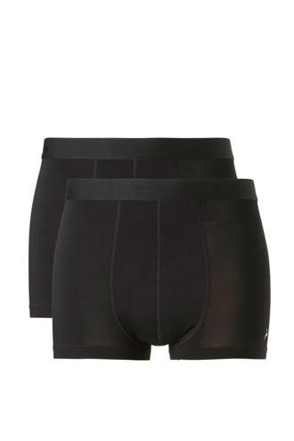 bamboe boxershort (set van 2) zwart
