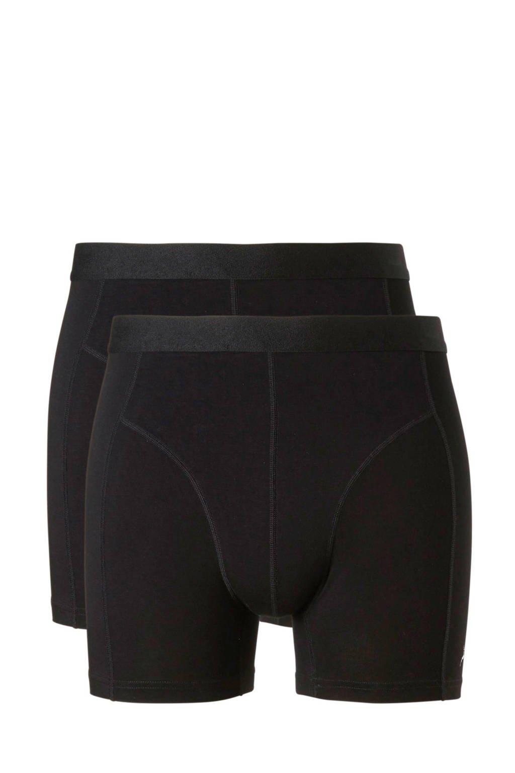 ten Cate bamboe boxershort (set van 2) zwart, Zwart