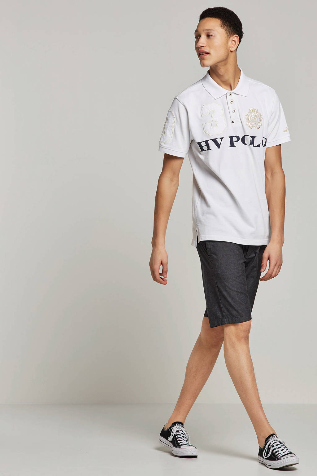 HV SOCIETY polo, Wit