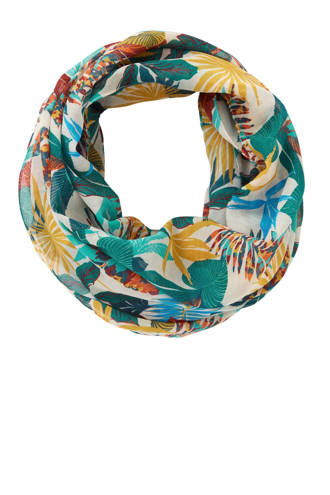 sjaal Print Infini wit
