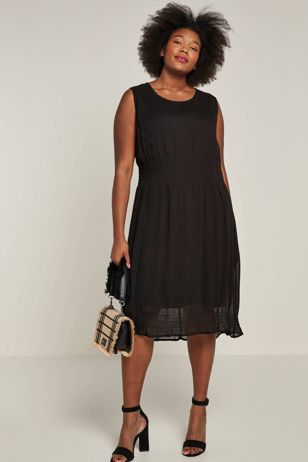 CHOISE jurk zwart, Zwart