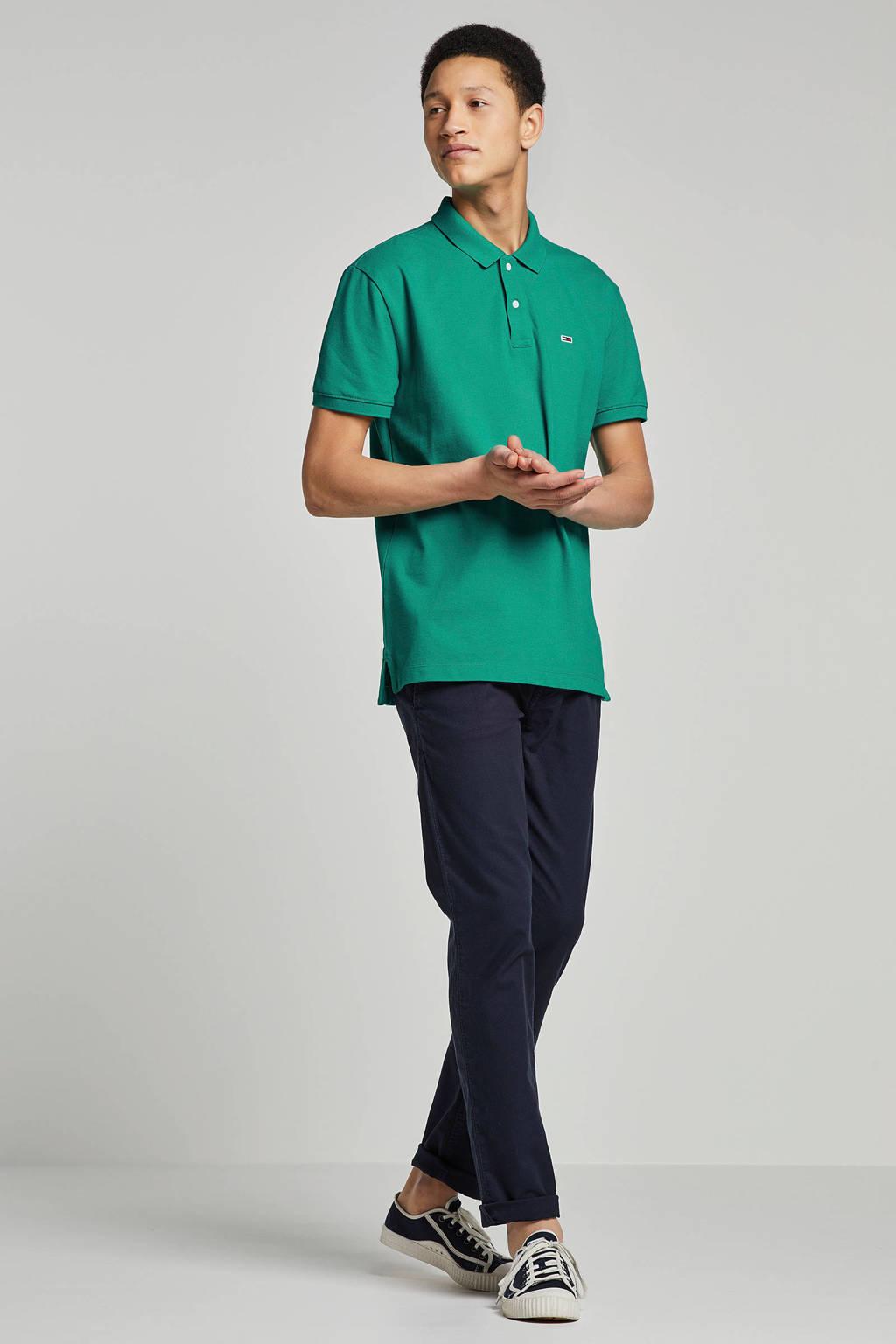 Tommy Jeans regular fit polo groen, Groen
