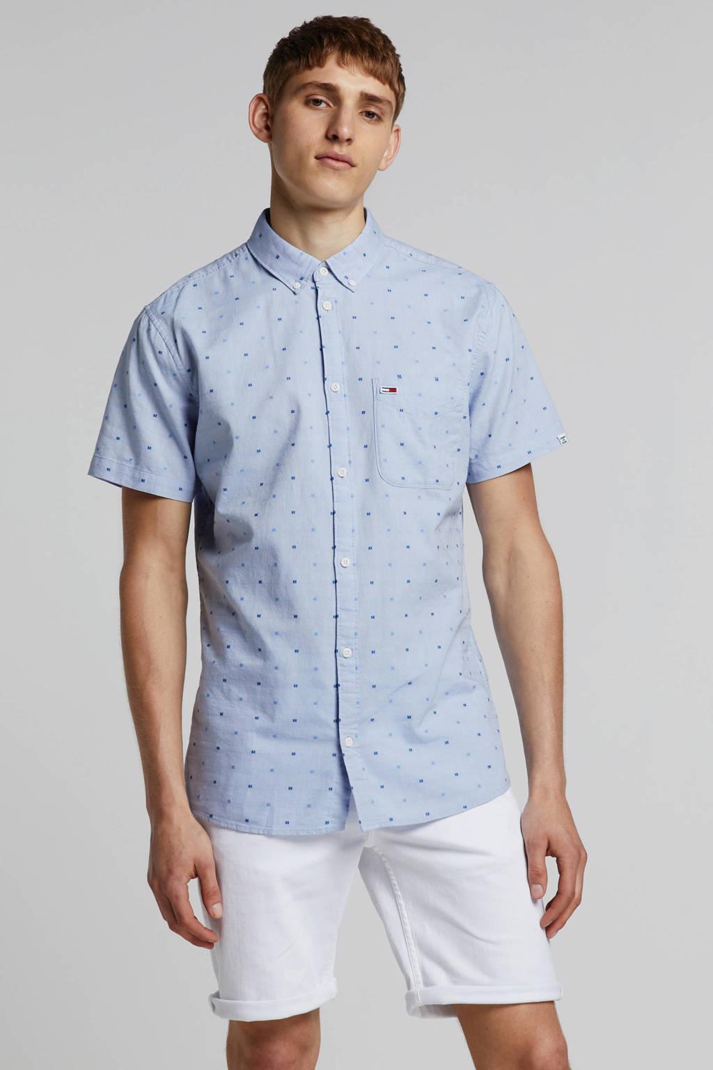 Tommy Jeans regular fit overhemd, Lichtblauw