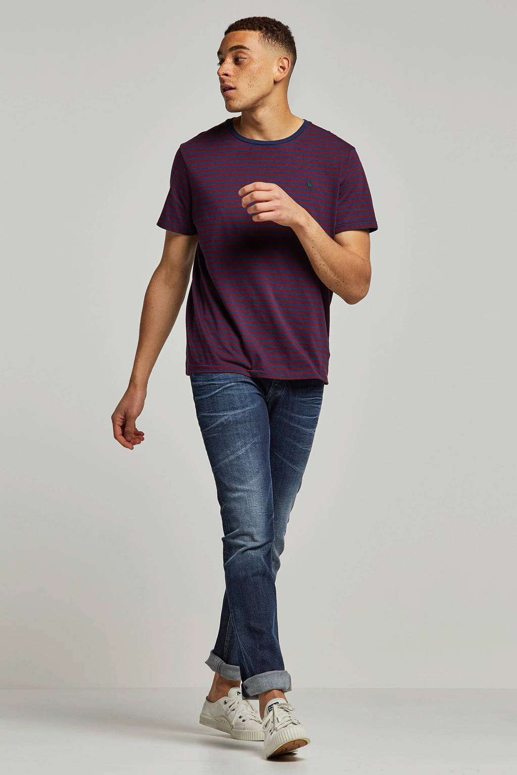 Tommy Jeans slim fit jeans, Donkerblauw