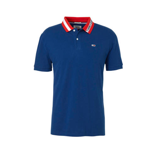 Tommy Jeans regular fit polo met logo kopen