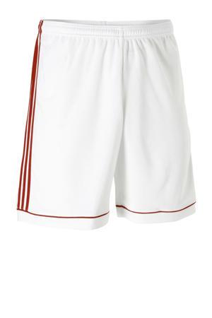 sportshort Squad wit/rood