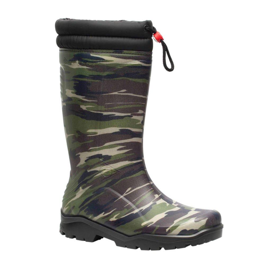 Scapino Dunlop Blizzard Thermo  regenlaarzen, leger groen