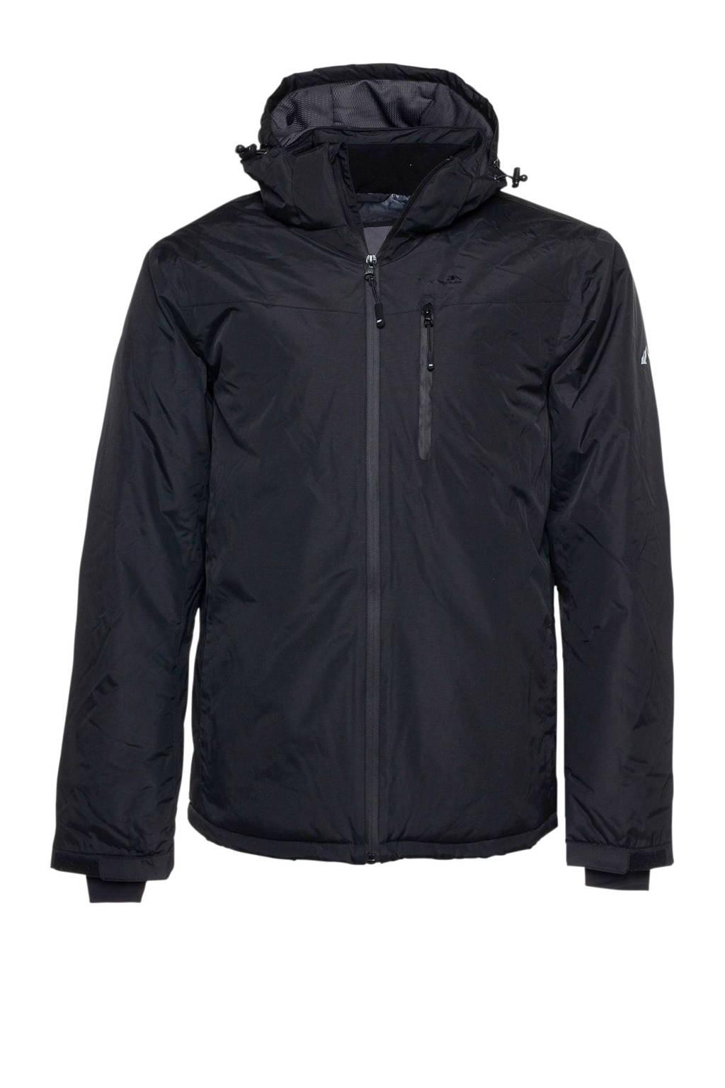Mountain Peak ski-jack zwart, Zwart
