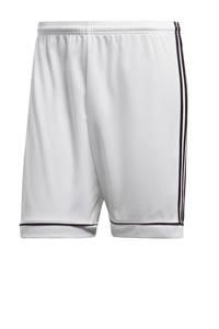 adidas Performance   sportshort Squad wit/zwart, Wit/zwart