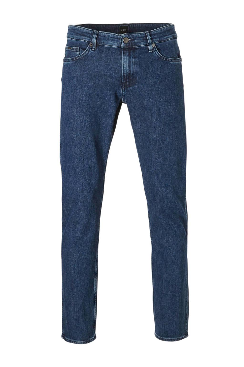Boss Business slim fit jeans, Blauw