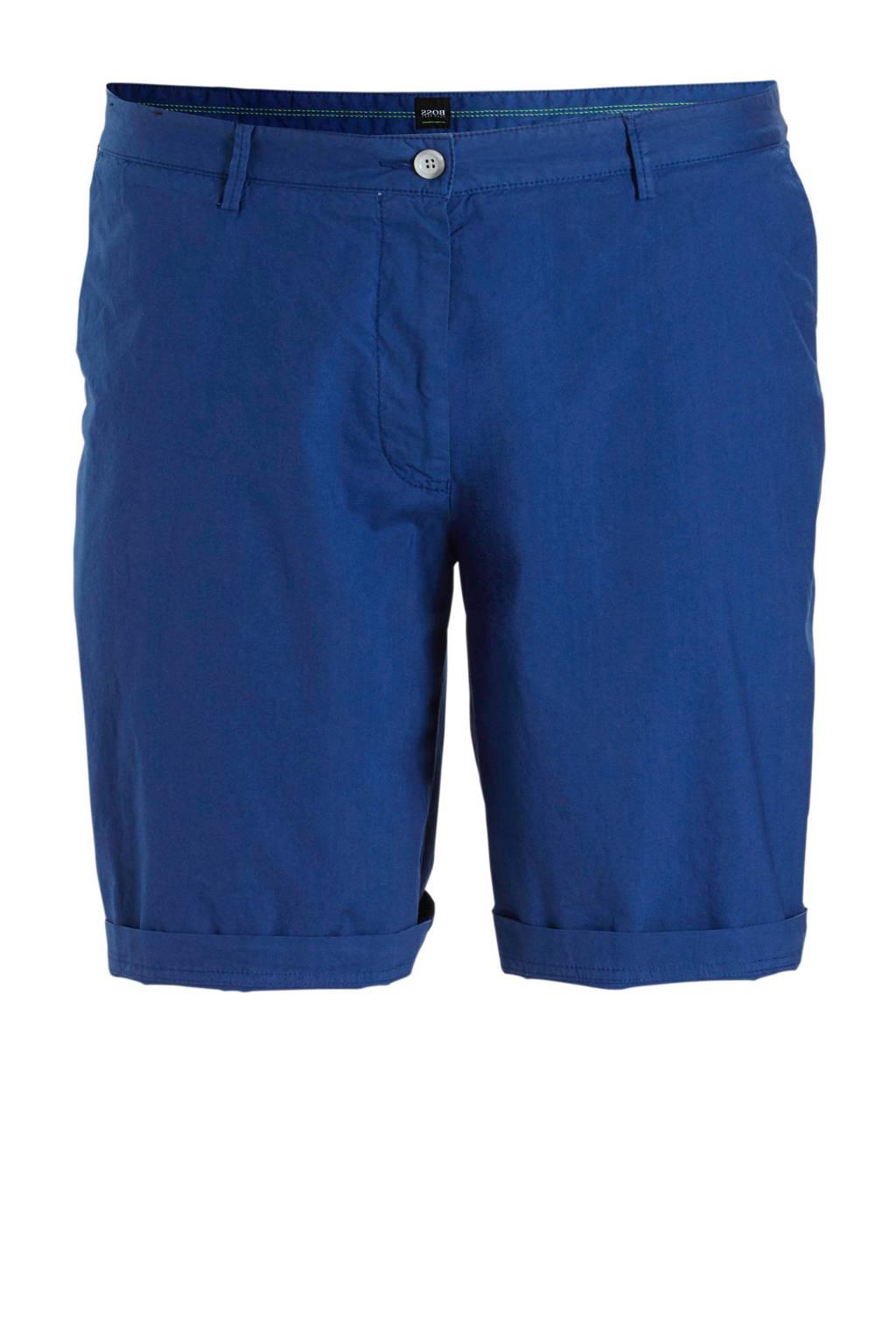 Boss Athleisure regular fit bermuda blauw, Blauw