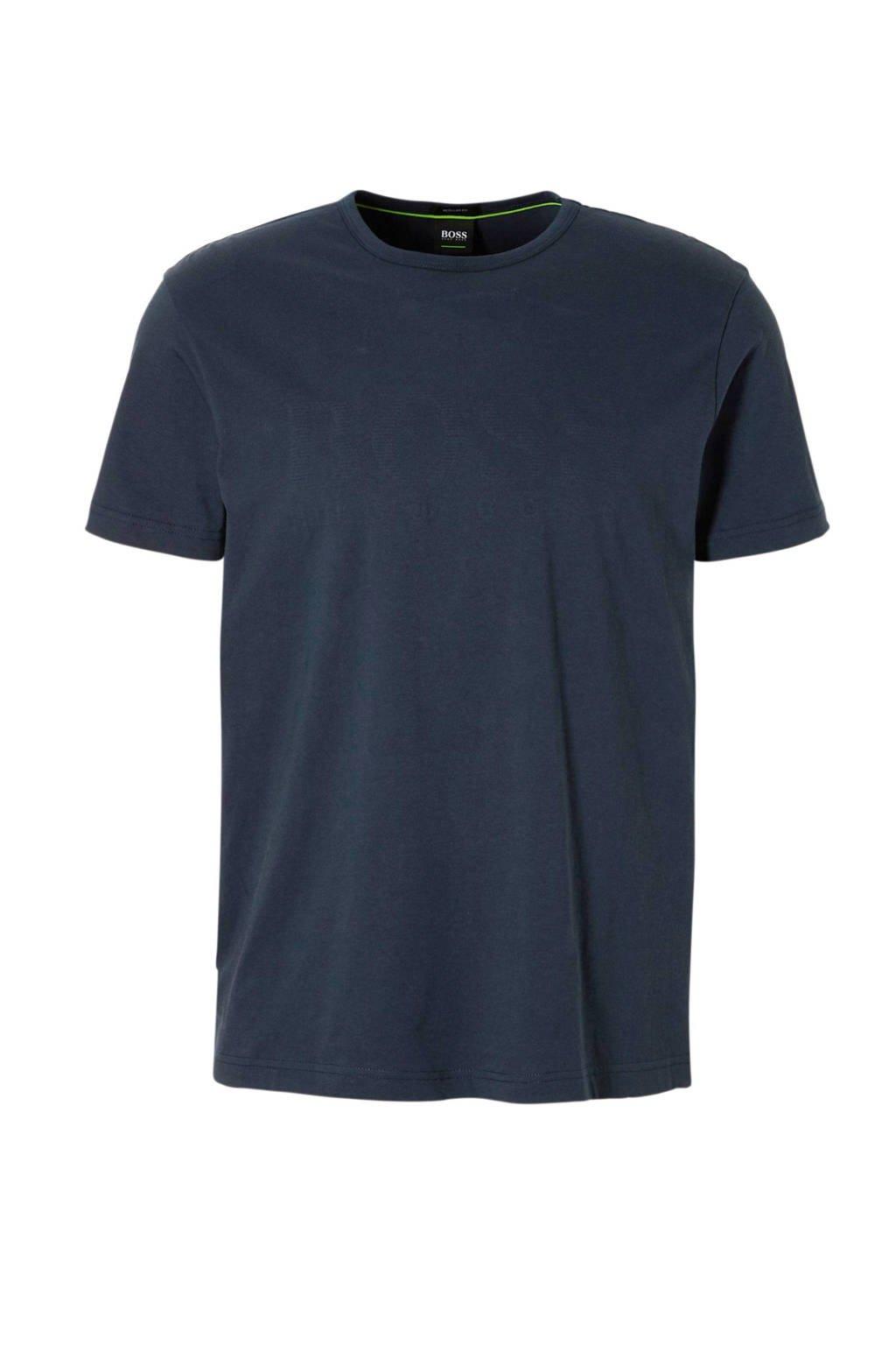 Boss Athleisure t-shirt, Donkerblauw