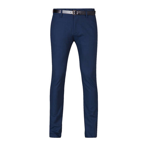 WE Fashion skinny fit chino marine kopen
