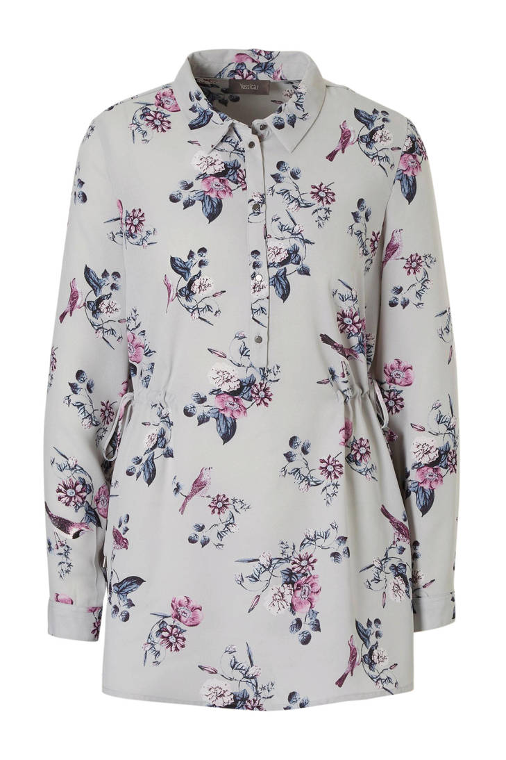grijs C A met blouse Yessica print xwqC0Xpqr7