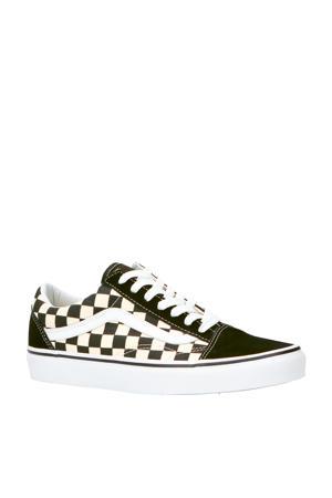 Old Skool suède sneakers zwart/wit