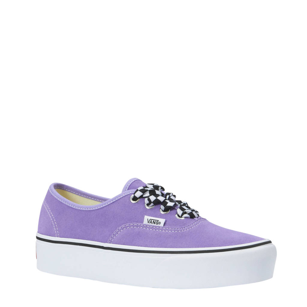 VANS Authentic Platform sneakers paars, Paars