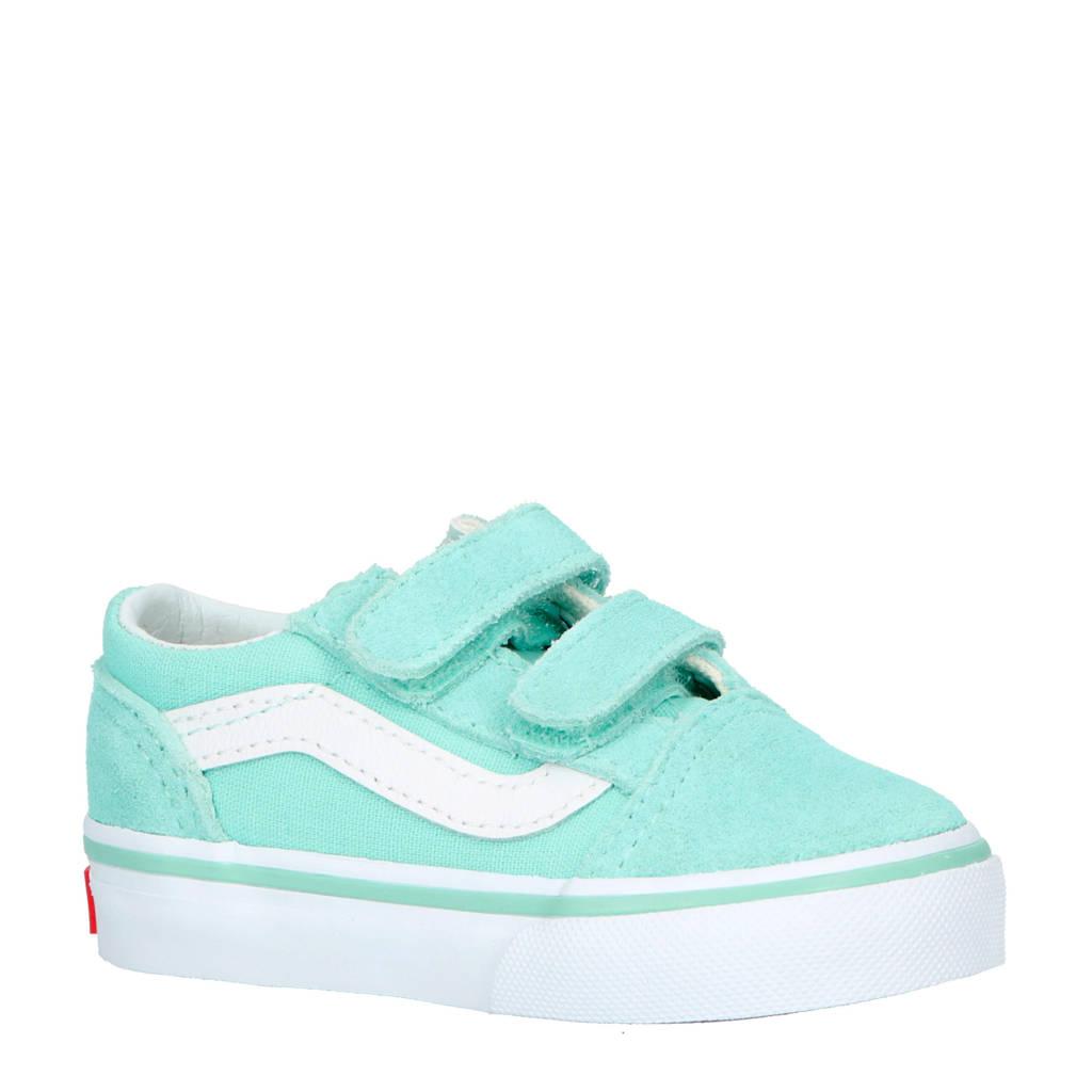 d6397fd232 VANS Old Skool suède sneakers mintgroen