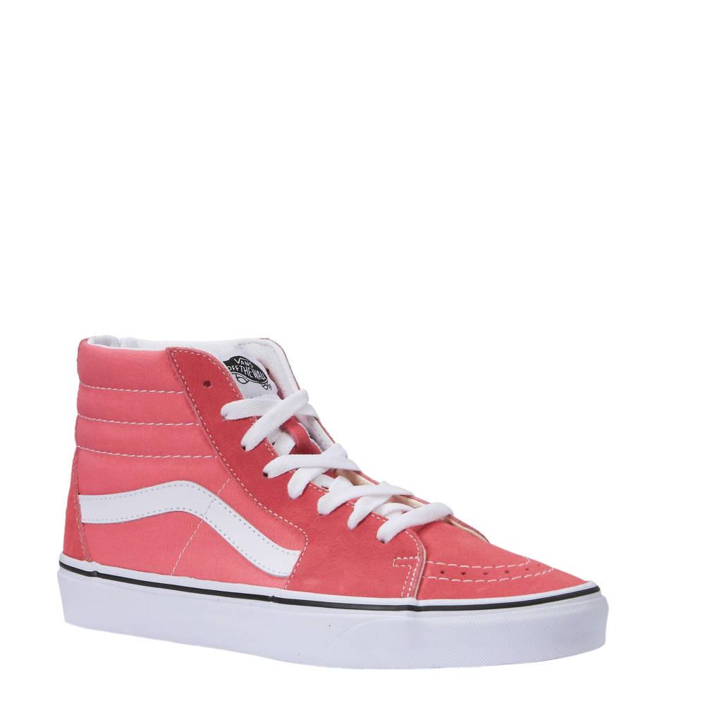 VANS  UA SK8-Hi sneakers roze, Roze/wit