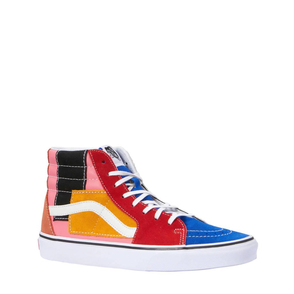 3478fc94c573c5 VANS SK8-Hi sneakers multi, Roze/rood/oranje multi