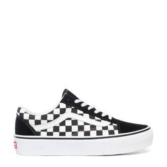 e4d1018f12d VANS. Old Skool Platform sneakers zwart/wit