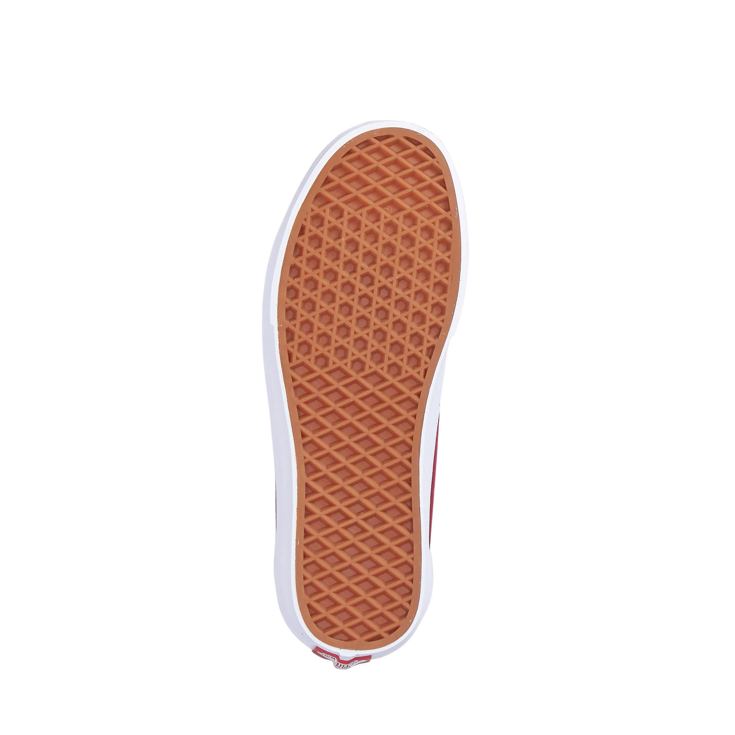VANS Old Skool suède sneakers donkerrood | wehkamp